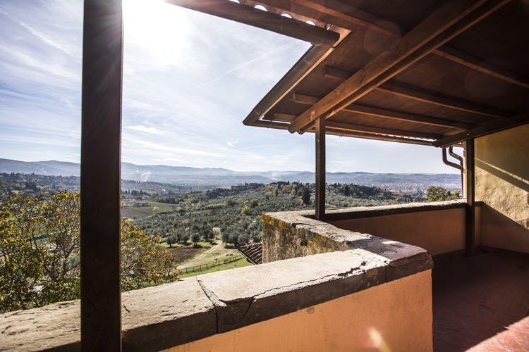 Fattoria di Maiano: tranquility and panoramic views