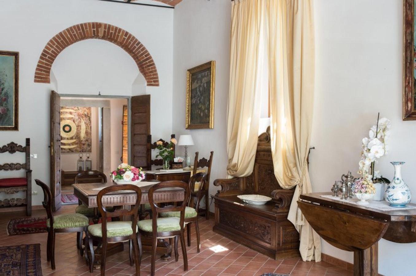 Fattoria I Ricci a Vicchio, appartamenti con splendido parco nel Mugello