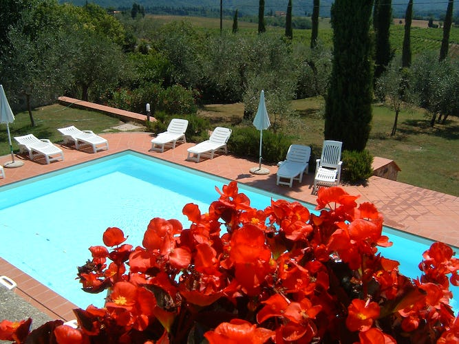 Fattoria Pagnana: self catering vacation apartments