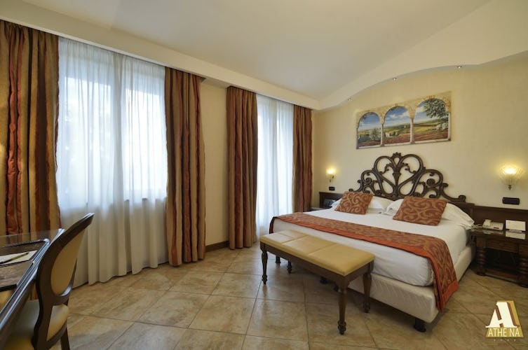 Family size rooms will accommodate extra beds upon request