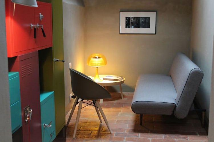 Magnifica ristrutturazione di un palazzo storico in centro a Siena