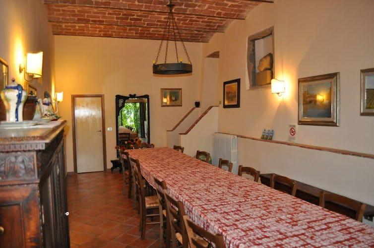 Area comune agriturismo in Toscana