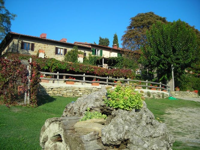 Farmhouse I Nidi di Belforte, particular of the garden