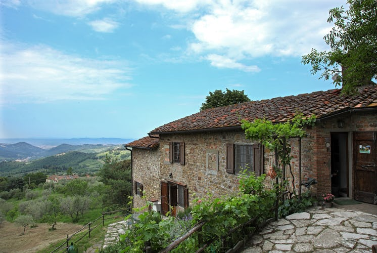 Il Fornaccio Country House - Panorama of Tuscany