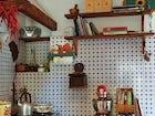 Kitchen Details B&B Il Fornaccio Florence Hills