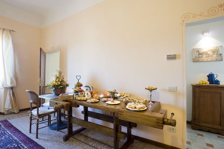 Buffet Breakfast Il Palagetto B&B Florence