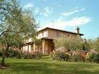The Garden at Il Poggetto in the Chianti Hills