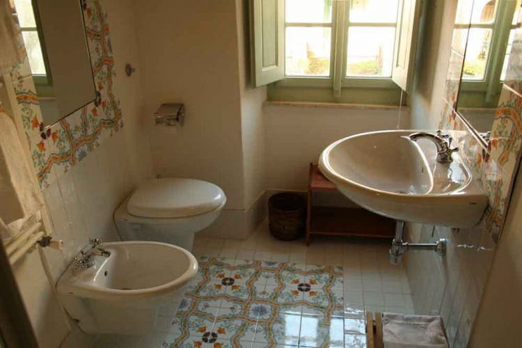 Modern and clean bathrooms, in all of the B&B rooms