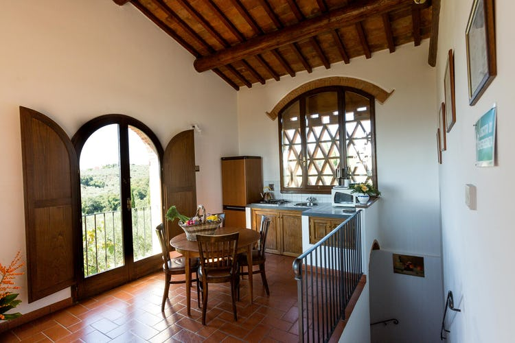 La Canigiana Chianti Vacation Apartments with home comforts
