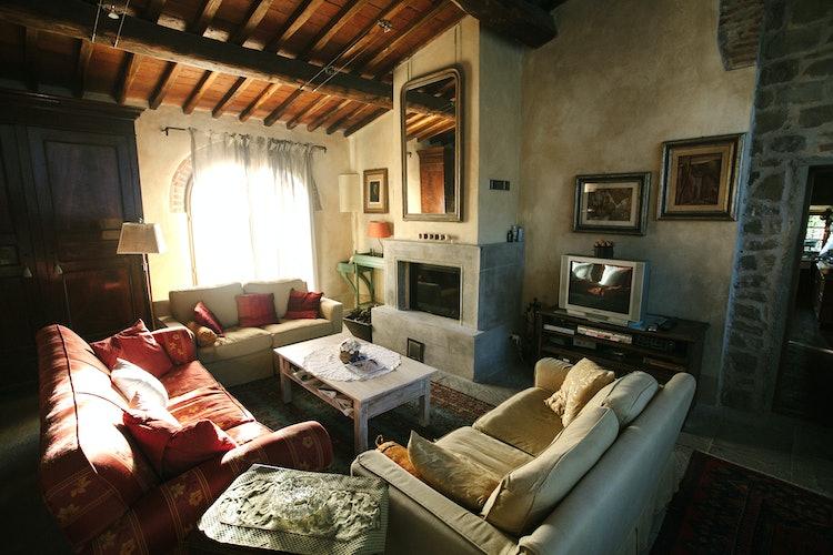La Casa in Chianti: arredo accogliente ed elegante al tempo stesso