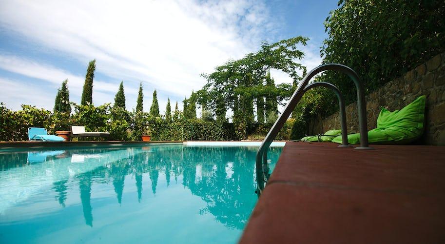 La Casa in Chianti: circondata da ampi giardini ben tenuti e curati
