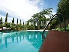 La Casa in Chianti: Ample gardens