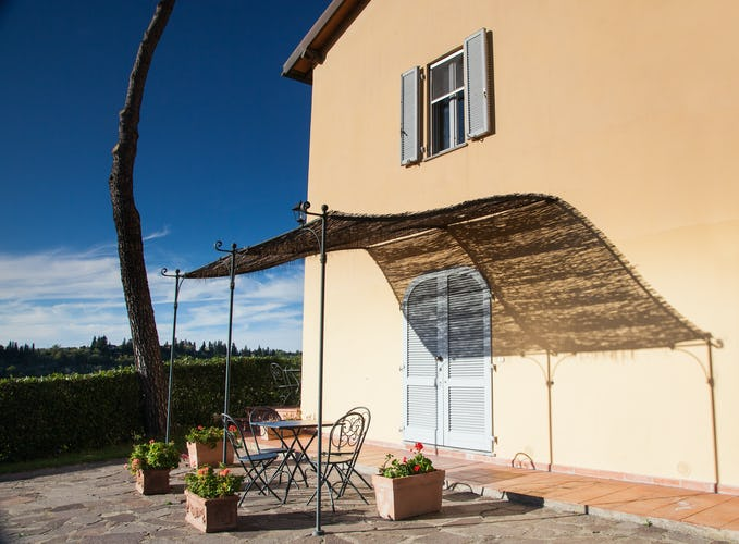 La Certaldina vacation apartments with panoramic views
