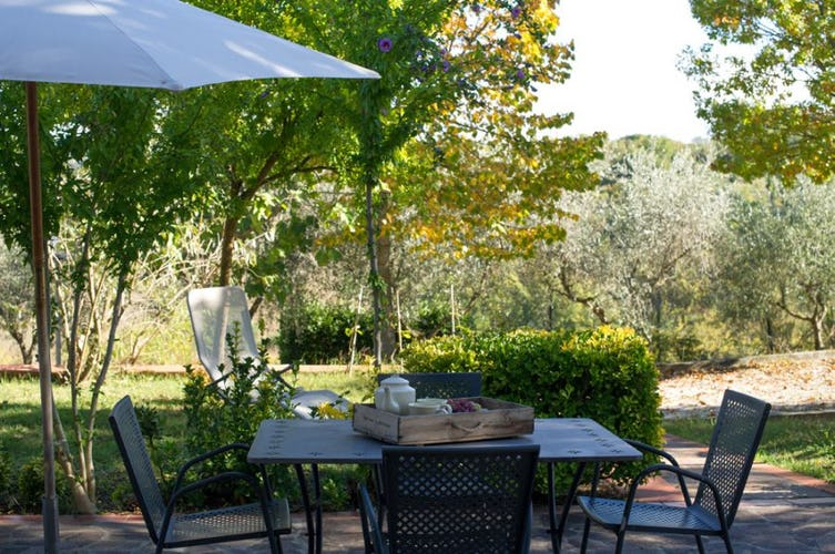 You'll never tire of the Tuscan views from vacation rental La Masseria