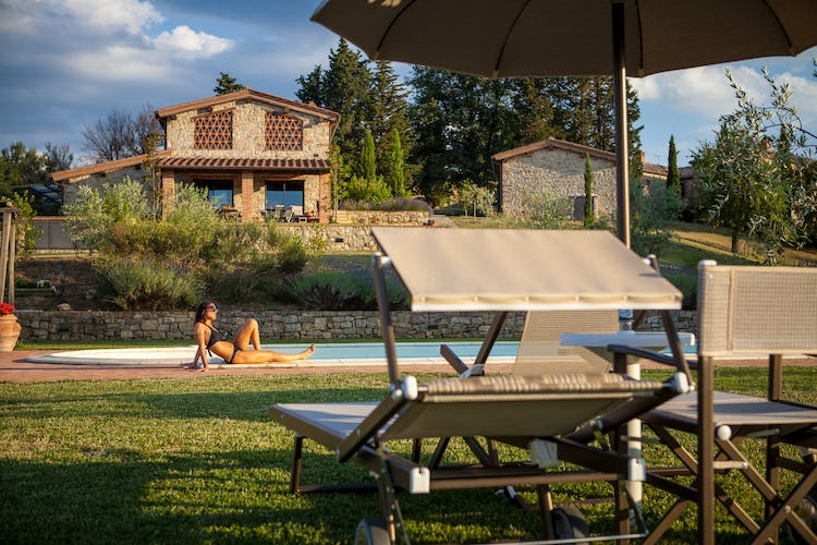 La Pieve Marsina: Vacation Apartments near Gaiole in Chianti