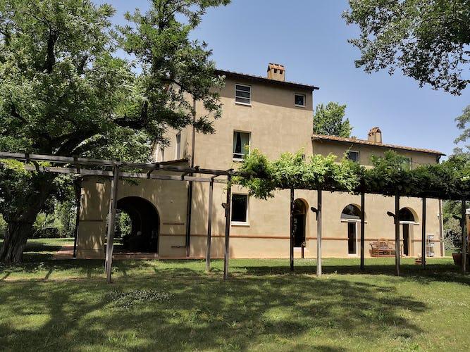 La Villa con gli Archi a luxury villa rental in southern Tuscany