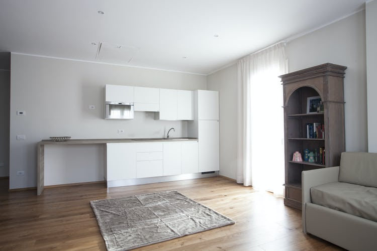 Le Dimore del Borgo: l'arredo è moderno e funzionale, dotato di quel particolare tocco di raffinata eleganza che contraddistingue gli alloggi