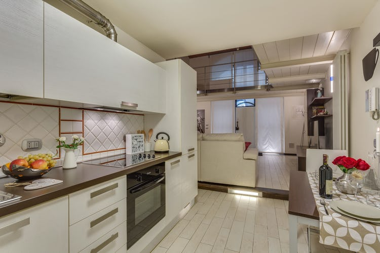 Loft le Murate Vacation Apartment: Fully equipped kitchen