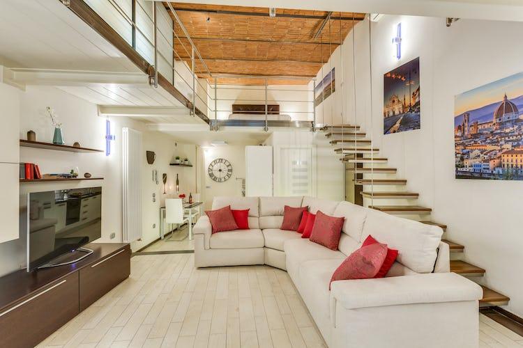 Loft le Murate - Arredo in stile minimalista che rende più ariosi gli ambienti