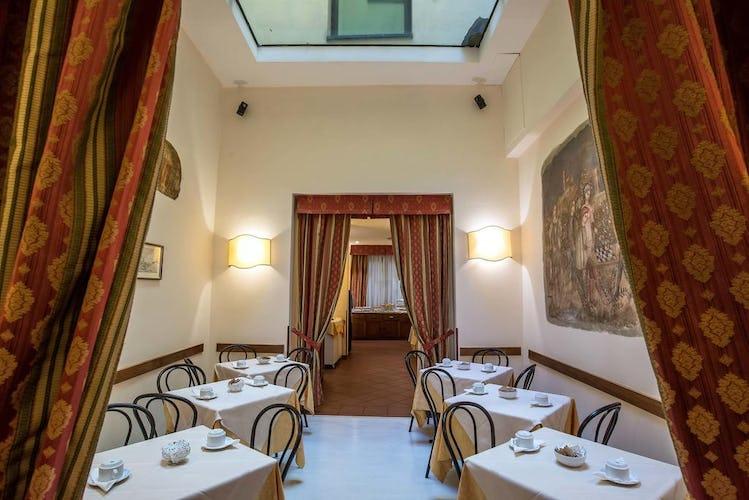 Hotel Machiavelli Palace - questa è la sala dove viene servita la colazione al mattino
