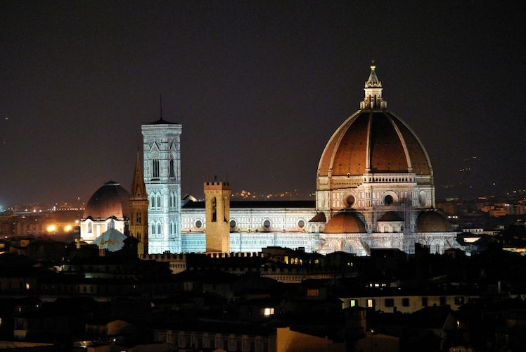 The city center of Florence is easily reached by bus, foot or bike
