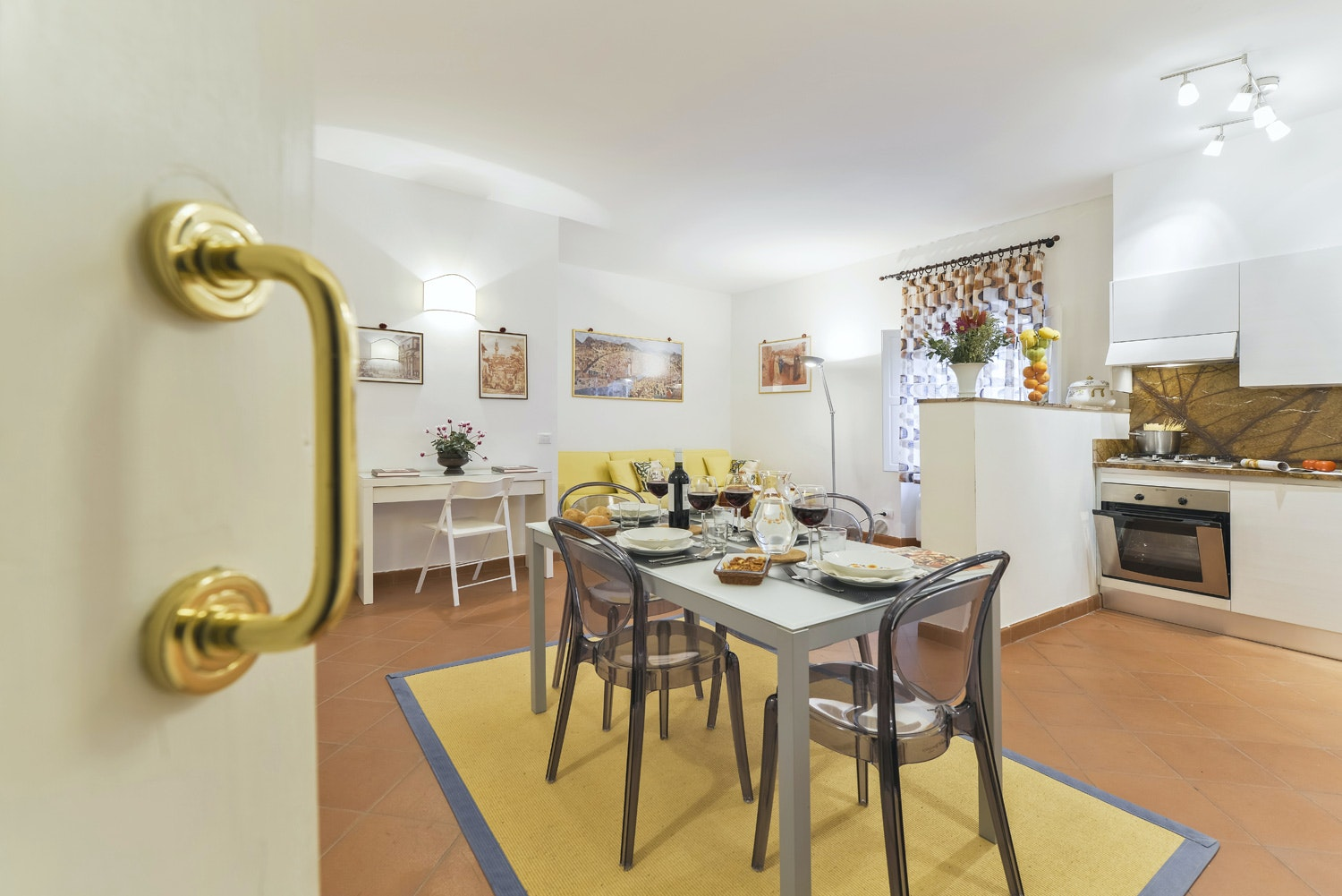 holiday rental design apartment florence marco