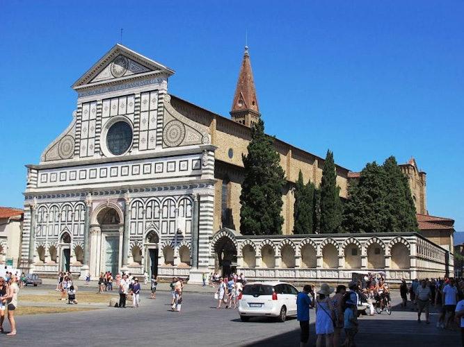 View from the apartment,Santa Maria Novella Cathedral