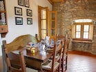 A breakfast room close to the kitchen, for snacks and small meals
