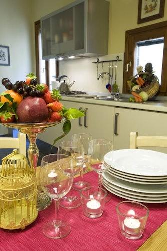 Pranzo all' Appartamento Oltrarno Firenze