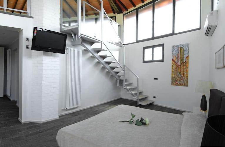 Le suite offrono una vista speciale su San Gimignano e la Toscana