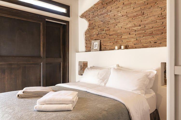 L'altra camera dell'appartamento Capanne, accogliente e luminosa