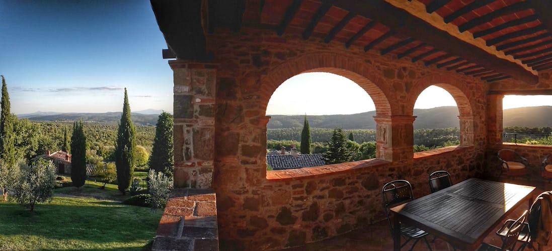 Agriturismo Podere Argena: posizione ideale per escursioni in Toscana