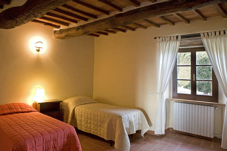 Agriturismo Podere Argena: Twin Bedroom