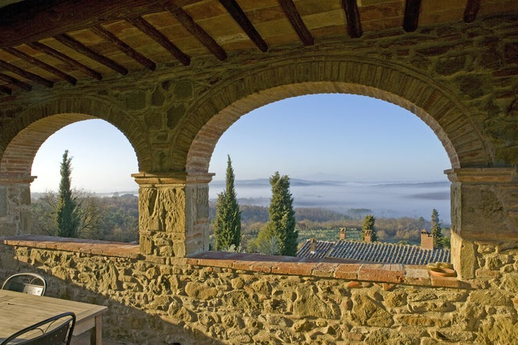 Agriturismo Podere Argena:  Enchanting Views