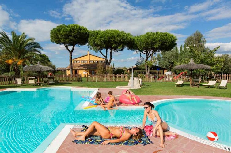 Perfect for rest & relax with friends & family at Podere Conte Novello