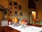 Living Room Agriturismo Poggio Gabbiano Cortona