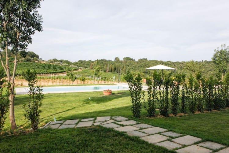 Pool Agriturismo Poggio Gabbiano Cortona