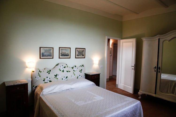 Bedroom Agriturismo Poggio Gabbiano Cortona