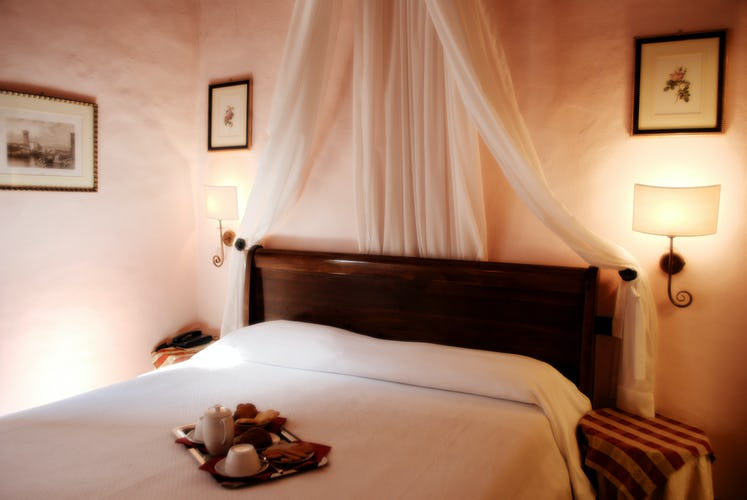 Relais Il Chiostro Di Pienza - Camera da letto romantica
