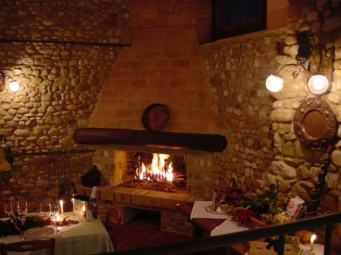 Restaurant at the farmhouse