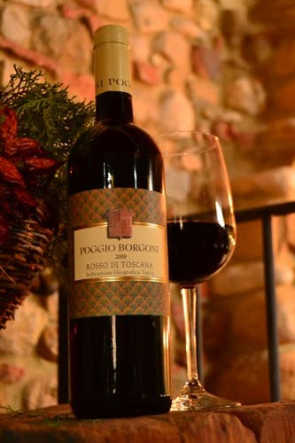 Vino Rosso Poggio Borgoni IGT
