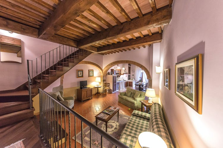 Residence Il Gavillaccio - self catering holiday apartments with living room and sofa bed