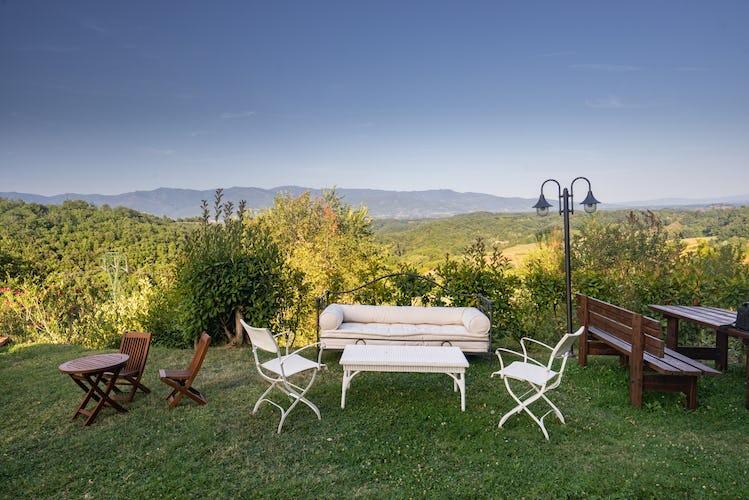 Residence Il Gavillaccio - l'area picnic con barbecue per grigliate in compagnia