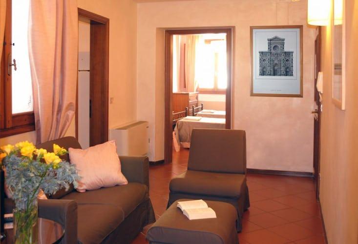 Living area Palazzo La Medicea