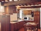 Farmhouse with elegant kitchen