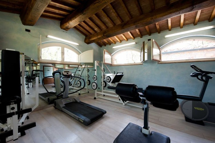 Stay in shop on vacation at the Technogym at Sarna Residence