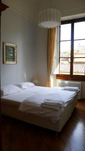 Tutte le stanze del Lungarno sono ampie e molto luminose