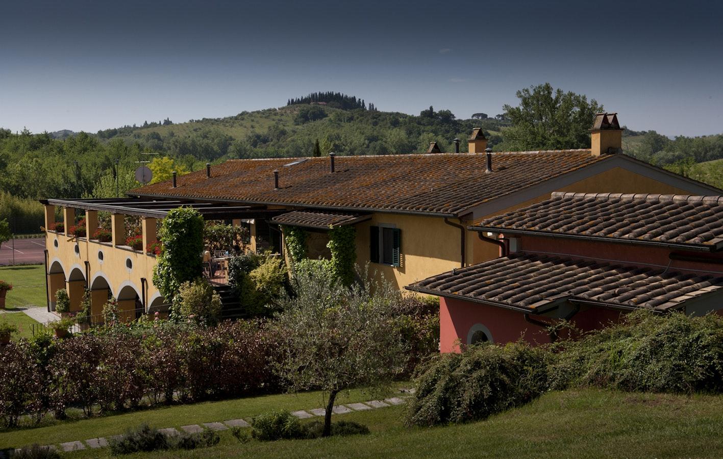 i massini residence near empoli in the hills of chianti