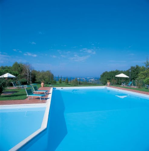 Amazing Pool at Tenuta Moriano Chianti Tuscany
