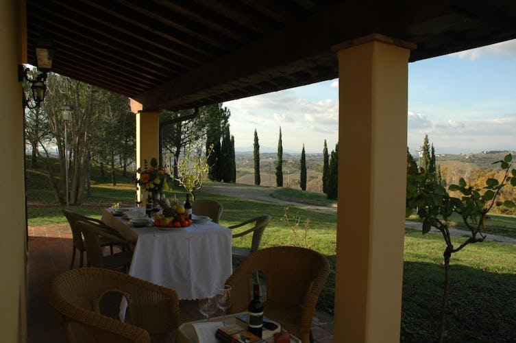 Surrounded by Nature at Tenuta Moriano Chianti